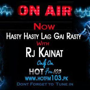 (HOTFM103 Game Show) Hasty Hasty Lag Gai Rasty With RJ KAINAT (01-03-2014)