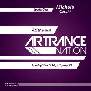 ArZen pres Artrance Nation Ep 10 Michele Cecchi Guest Mix