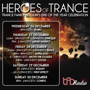 Locus - Heroes Of Trance [EOY Celebration]