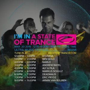 Aly & Fila - Live @ Ultra Music Festival 2016. A State Of Trance 750 Stage, Miami (20-03-2016)