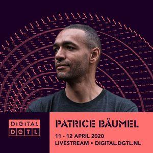 Patrice Baumel - Modular - DIGITAL DGTL! 2020 #KeepDistanceStayDGTL