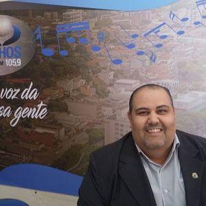 Entrevista com Rodrigo Paulo Ribeiro, big, secretário de Esportes e Lazer, sobre os Jogos Regionais