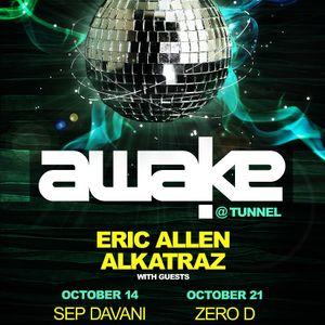 Eric Allen LIVE at Awake  Tunnel Oct 21 2011
