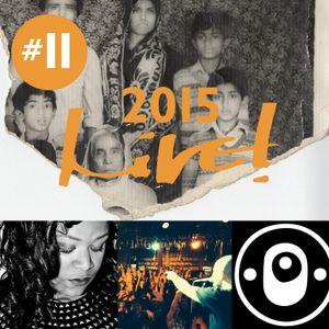 Live! Arts Radio - 2015/#11 - Priscilla Cameron, LatinMotion, B'ham Cultural Heritage, DJ Rawtrachs