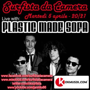 25a puntata - Plastic Made Sofa live @ Surfista da Camera