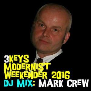 3Keys Modernist Weekender 2016 - Mark Crew - DJ Profile