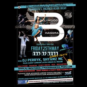 BOLLYWOODBHANGRA NIGHTS: FRIDAY 25th MAY End of Year Summer Party