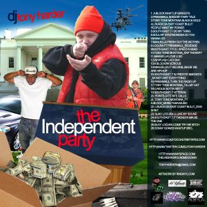 BLACK CITY HUSTLA RADIO ONLINE & DJ TONY HARDER PRESENTS INDEPENDENT PARTY MIX FT A-BLOCK & TONE BCH