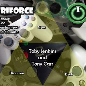 Tri-force with Tony on IO Radio 230316