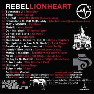 Rebellion - Lionheart [Liquid Drum + Bass Mix 2011]