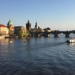 The beautiful city of Prague and music by two famous Czech classical composers