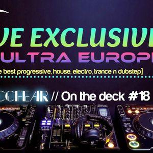 Zaccfear On The Deck #18 (Ultra Europe Contest) [25min]