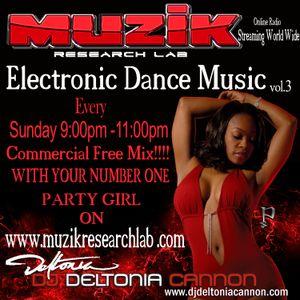 Dj Deltonia Cannon Electronic Dance 3