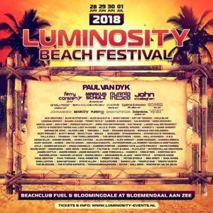 Eric Senn @ Luminosity Beach Festival 2018