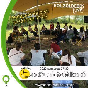 EcoPunk Találkzó - Kozma Gergely | HolZöldebb? Live @OPENAIRRADIO (2020.07.01) Podcast