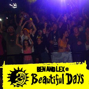 Ben and Lex @ Beautiful Days 2009