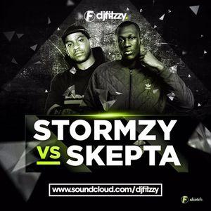 Stormzy vs. Skepta | TWITTER @DJFITZZY