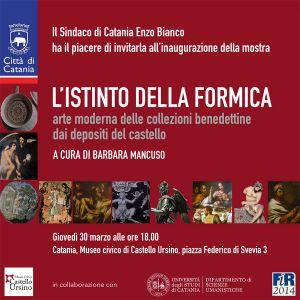"""""""L'istinto della formica"""" - mostra d'arte presso il Museo civico di Castello Ursino"""
