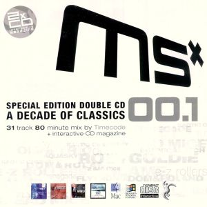 2000: MSX00.1 (10th Anniversary Special Edition) | Rob & Goldie Mix
