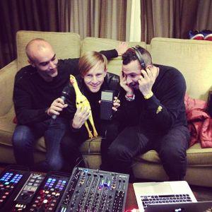 Richie Hawtin, Loco Dice & Paco Osuna Live @ CNTRL TV 01 Beyond EMD - 30-10-2012