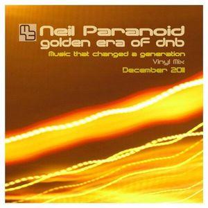 Neil Paranoid Golden Era of dnb Vinyl Mix 1994-95 in 320Kbps Tracklisted