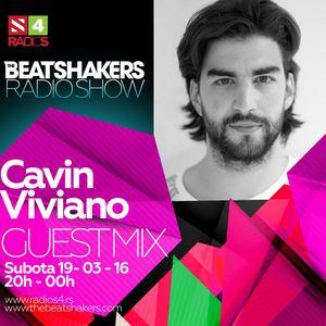 The Beatshakers Radio Show  – Guest Mix by Cavin Viviano