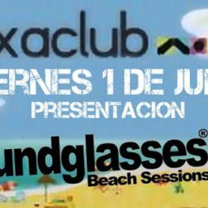 ALVARO MAORTUA-PRESENTACION SOUNDGLASSES BEACH SESIONS 2012 (01.06.2012, Luxa Club, castellon)