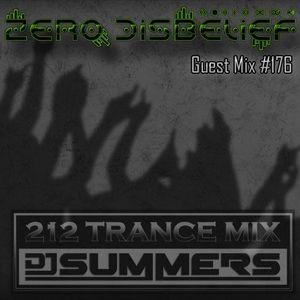 212 Trance Mix Ep 176 (Zero D Guestmix)