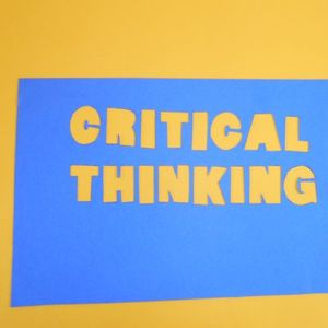 Critical Thinking session on 27th June 2017