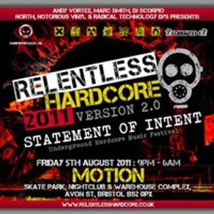 Linear b2b Overkill [live] @ Relentless Hardcore 2011 [motion bristol]