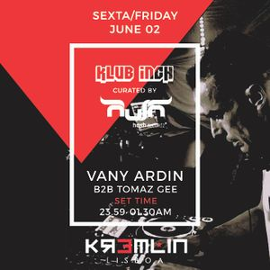Vany Ardin . Klub Inch Promo Mix (June 2017 edition)