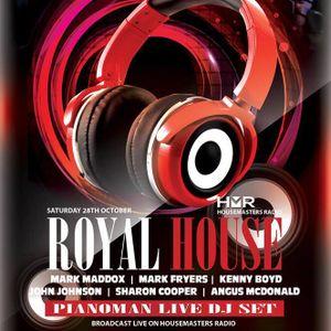 Pianoman ROYAL HOUSE (Venue @ Skipton) DJ SET by Carl Cameron