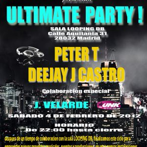 ULTIMATE PARTY Feb 2012  mixed by PETER T