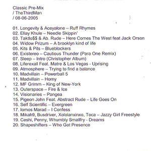 TheThirdman - classic pre-mix [08.juin.2005] #2