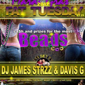 0212 Brownstone Pardi Gras Mix by DJ Davis G with James Strzz & Luong
