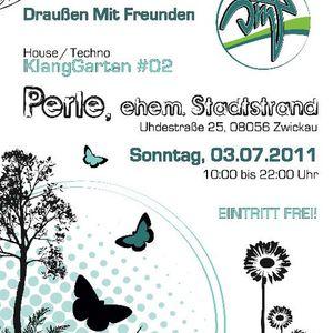03.07.11   Christian Lindemann @ KlangGarten #02   Perle, Zwickau