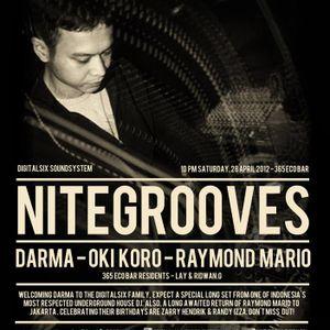 Darma live at NITEGROOVES 28-04-12 365 Ecobar