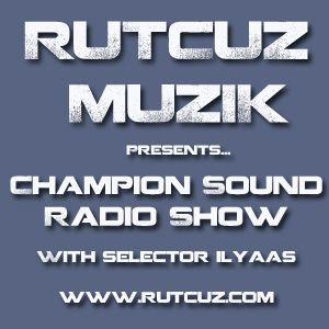 Champion Sound Radio Show - Hip Hop Edition 8.12.2012