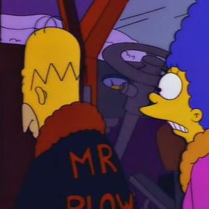 """The Simpsons """"Mr. Plow"""""""