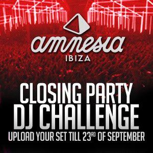 Allen D  Amnesia DJ Competition.