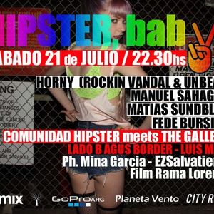 Luis Masi Live Warm Up @ Hipster Baby! July 2012 (Part 2)
