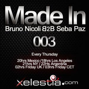 Bruno Nicoli&Seba Paz @ Made In RaidoShow 003
