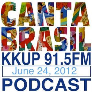 Canta Brasil on KKUP 91.5 FM by DJs Maria José and Xuxu