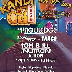 DJ KNOWLEGDE - LIVE at TOAD's PLACE - TYPHOON HAIYAN BENEFIT - 11/30/13 PODCAST65