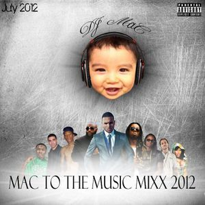 DJ MaC - MaC to the Music Mixx 2012 (July Hip-Hop, R&B and Top 40)