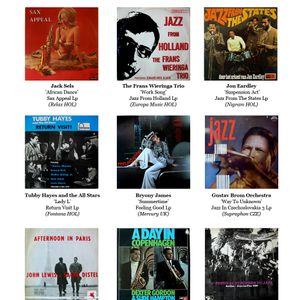 Modern Jazz from Europe (April 2011 list)