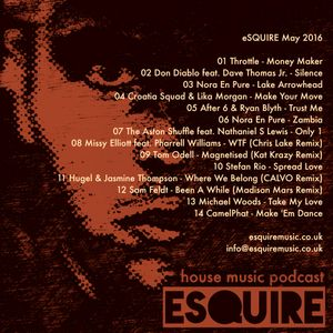 eSQUIRE May 2016 Podcast - FREE DOWNLOAD by eSQUIRE Music UK | Mixcloud