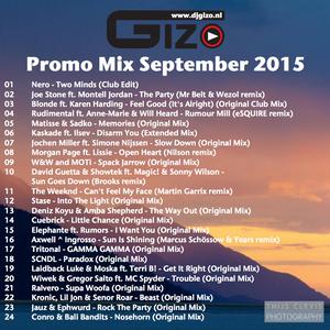 Promo Mix September 2015