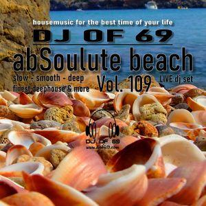AbSoulute Beach 109 - slow smooth deep