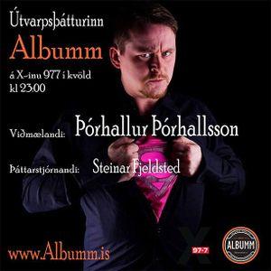 Útvarpsþátturinn Albumm á X-inu 977 / Þóthallur Þórhalsson